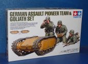 Tamiya 1/35 35357 German Assault Pioneer Team - w/Goliath Set