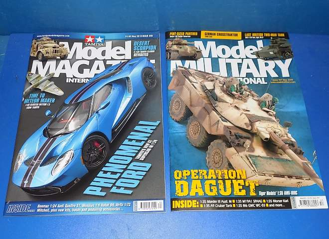 Tamiya Magazines na FREE75 FREE GIFT FOR ORDERS OVER £60 - Model Magazine and Model Military May 2019