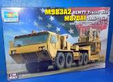 Trumpeter 1/35 01055 M983A2 HEMTT Tractor with M870A1 Semi-trailer (Dozer not included)