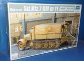 Trumpeter 1/35 01507 German Sd.Kfz.7 KM m 11 Mittlere Zugkraftwagen8t Late Version