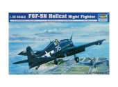 Trumpeter 1/32 02259 F6F-5N Hellcat Night Fighter