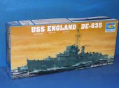 Trumpeter 1/350 05305 USS England DE635 	Buckley Class Destroyer Escort