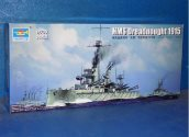 Trumpeter 1/700 06705 HMS Dreadnought 1915