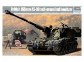 Trumpeter 1/35 324 British 155mm AS-90 Self-Propelled Howitzer
