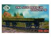 UM 1/72 615 Two axle flat bed railway truck