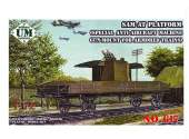 UM 1/72 617 SAM-AT PLATFORM ( special anti-aircraft machine gun mount for armored trains )