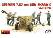 Miniart 1/35 35033 German 7.62cm Gun w/Crew