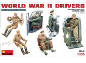 Miniart 1/35 35042 World War II Drivers