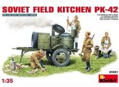 Miniart 1/35 35061 Soviet Field Kitchen KP-42