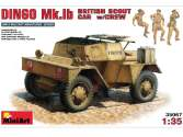 Miniart 1/35 35067 Daimler Dingo Mk.1b British Armoured Car with Crew