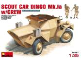 Miniart 1/35 35087 Scout Car Dingo Mk.1a with Crew