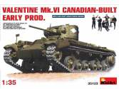 Miniart Valentine MkVI Canadian Built Early Production Scale 1/35 35123