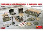 Miniart 1/35 35258 German Grenades & Mines Set