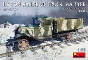 Miniart 1/35 35265 1.5 Ton Railroad Truck AA Type