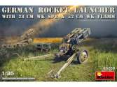 Miniart 1/35 35269 German Rocket Launcher with 28cm WK Spr & 32cm WK Flamm