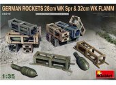Miniart 1/35 35316 German Rockets 28cm WK Spr & 32cm WK Flamm