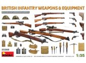 Miniart 1/35 35368 British Infantry Weapons & Equipment