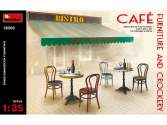 Miniart 1/35 35569 Café Furniture and Crockery