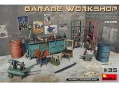 Miniart 1/35 35596 Garage Workshop