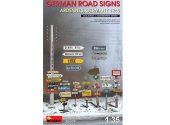 Miniart 1/35 35609 German Road SignsWWII  (Ardennes, Germany 1945)