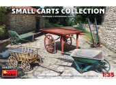 Miniart 1/35 35621 Small Carts Collection