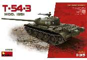 Miniart 1/35 37015 T-54-3 Soviet Medium Tank. Mod. 1951