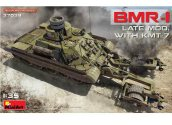Miniart 1/35 37039 BMR-1 Late Mod w/ KMT-7 Mine Roller