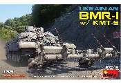 Miniart 1/35 37043 Ukranian BMR-1 with KMT-9