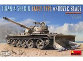 Miniart 1/35 37044 Tiran 4 Sharir Early Typr w/Dozer Blade