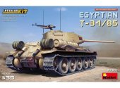 Miniart 1/35 37071 Egyptian T-34/85. Interior Kit