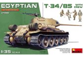 Miniart 1/35 37098 Egyptian T-34/85 w/ Crew