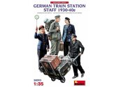 Miniart 1/35 38010 German Train Station Staff 1930-40s