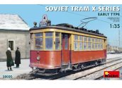 Miniart 1/35 38020 Soviet Tram X-Series Early Type