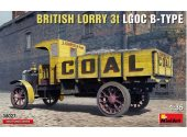 Miniart 1/35 38027 British Lorry 3T LGOC B-Type