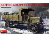 Miniart 1/35 39003 British Military Lorry B-Type