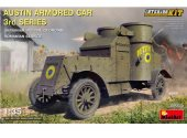 Miniart 1/35 39005 Austin Armored Car 3rd Series w/ Interior