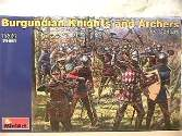 Miniart 1/72 72001 Knights and Archers of Burgundy XV Century