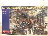 Miniart 1/72 72002 French Knights with Assault Ladders XV Century