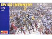 Miniart 1/72 72009 Swiss Infantry XV century