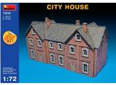 Miniart 1/72 72030 City House - Multi Coloured Kit
