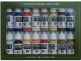 Vallejo 17ml x 16 70147 Model Color Set - American Colonial