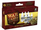 Vallejo 17ml x 6 70155 WWII Wargames - German Armour Paint Set