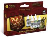 Vallejo 17ml x 6 70158 WWII Wargames - German SS Paint Set