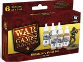 Vallejo 17ml x 6 70160 WWII Wargames - US Infantry Paint Set