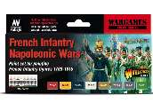 Vallejo 17ml x8 70164 Model Color Acrylic Paint Set - Napoleonic French Infantry