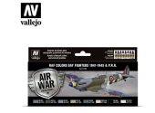 Vallejo 17ml x 8 71162 Model Air Set - WWII RAF Day Fighters