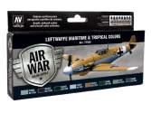 Vallejo 17ml x8 71164 Model Air Set - Luftwaffe Maritime and Tropical colours