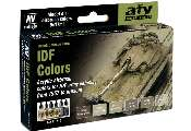 Vallejo 17ml x 6 71210 Model Air Set - IDF Army Colours 1957 - Present