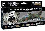 Vallejo 17ml x8 71608 Model Air Paint Set - Soviet Schemes Pt.II