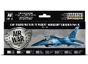 Vallejo 17ml x8 71618 Model Air Acrylic Paint Set - USAF Post WWII to Aggressor Sqns